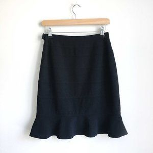 Escada wool peplum skirt - size 36